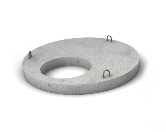 Плита перекрытия для бетонных колец ПП 20