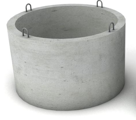Бетонное кольцо КС 7-9