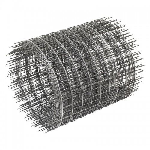 Сетка сварная неоцинкованная 50х50х1,6 рулон 0,2х50 м
