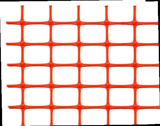 Аварийное ограждение А-45 40х40 оранжевое 1,3х50 м