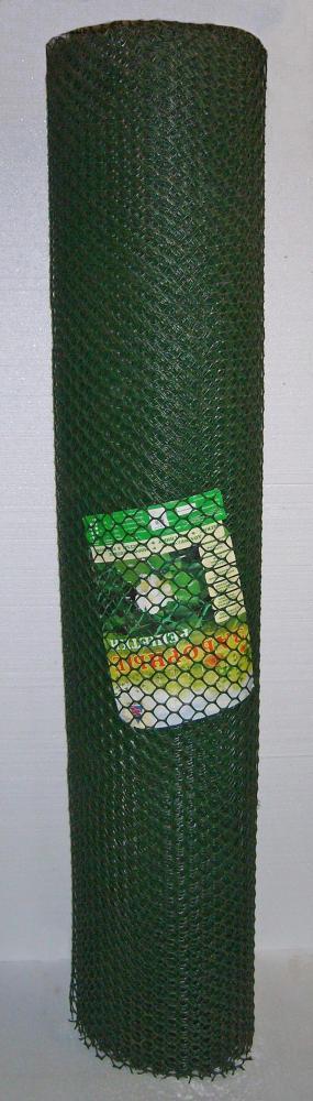 Заборная решетка З-20/1,5/20 зеленая 20х20 мм рулон 1,5х20 м