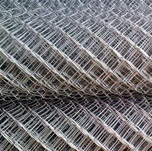 Сетка плетеная Рабица оцинкованная 10х10х1