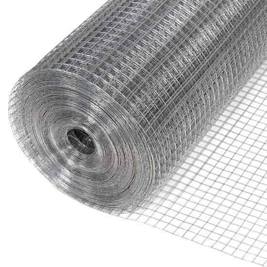 Сетка сварная оцинкованная ГЦ 50х50х2,5 рулон 2х15 м