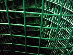 Сетка сварная в ПВХ неоцинкованная 50х50х1,8 рулон 2х15 м